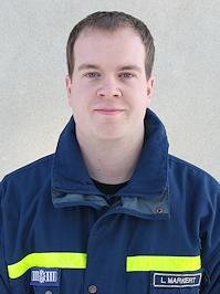 Stellvertretender Ortsbeauftragter Lucas Markert