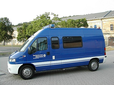 Der Mannschaftstransportwagen