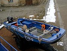 Blick in das RuS-Boot