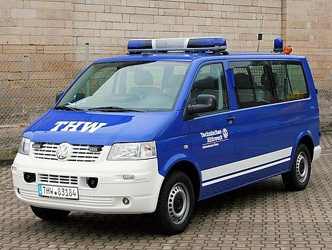 Der Mannschaftstransportwagen Jugend / Ortsverband
